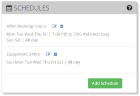 Camcloud Introduces All New Recording Schedule Feature