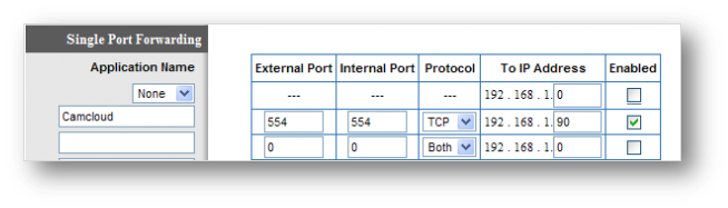 how to find your ip and port