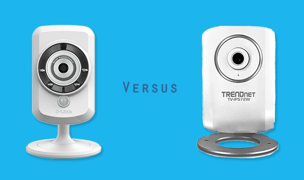 D-LINK DCS-942L vs. TRENDNET TV-IP572W
