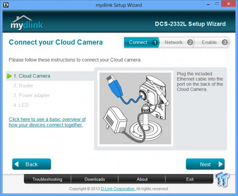 How to Setup a D-Link DCS-2332L IP Camera with Camcloud